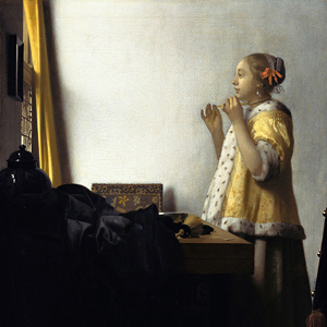 Vermeer's Woman with a Pearl Necklace