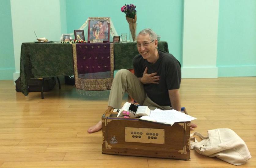 Yogesvara (Joshua M. Greene) teaching